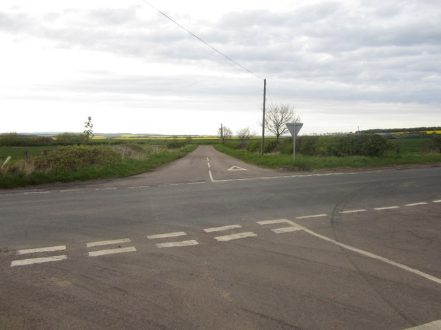Crossroads near Lowick