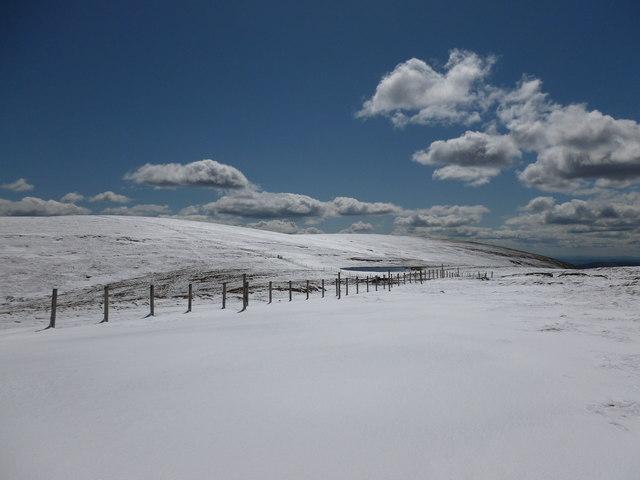 Approaching Stony Loch