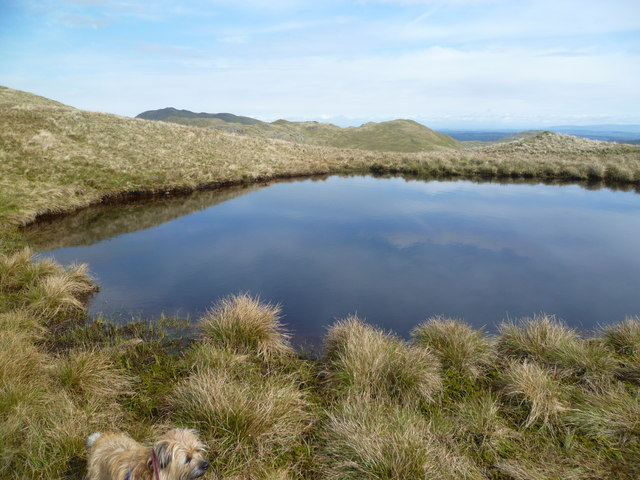 Small Tarn on Brock Crags