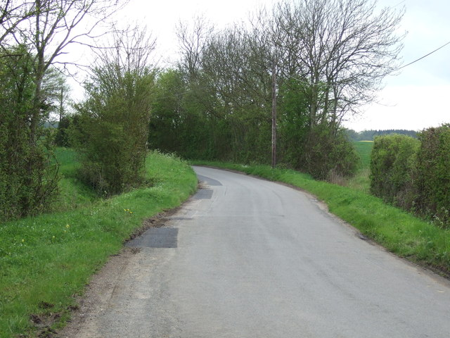 Lane towards Harleston