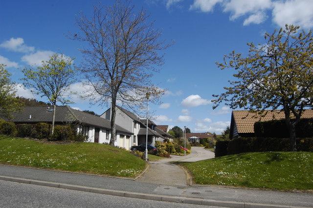 Glimpse of suburbia