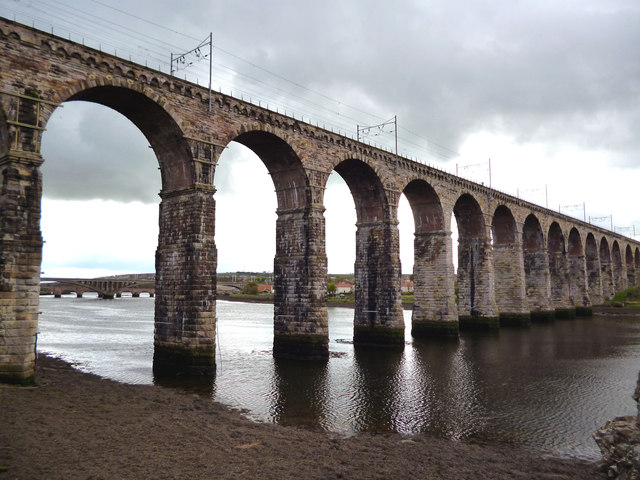 Berwick-upon-Tweed:  The Royal Border Bridge