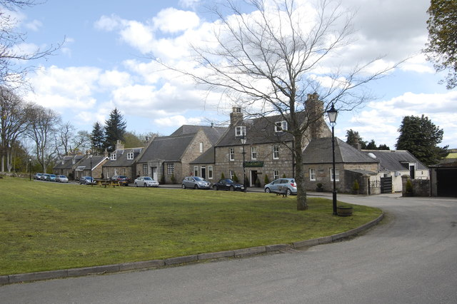 South side of the Square, Udny Green