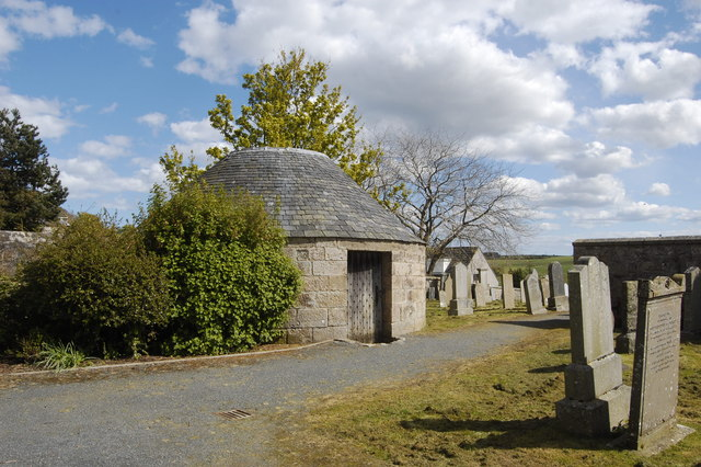 The morthouse, Udny Green churchyard