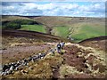 SK1189 : Descending Towards Gate Side Clough by Jonathan Clitheroe