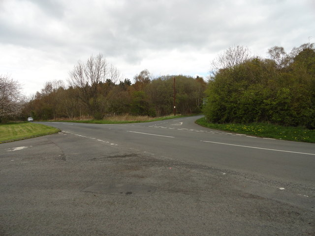 Crossroads on the B6296