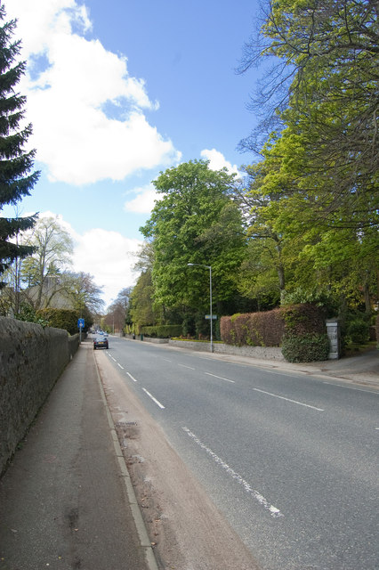 North Deeside Road (the A93)