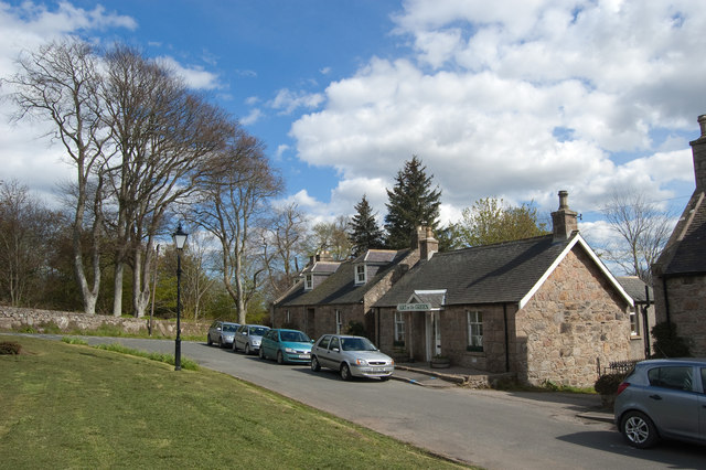 The Square, Udny Green (south side)