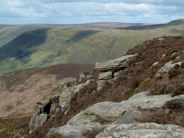 Rocky outcrop, Rowland Cote Moor