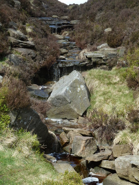 Stream at the head of Jaggers Clough
