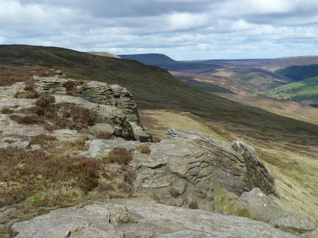 Rocky outcrop, Crookstone Knoll