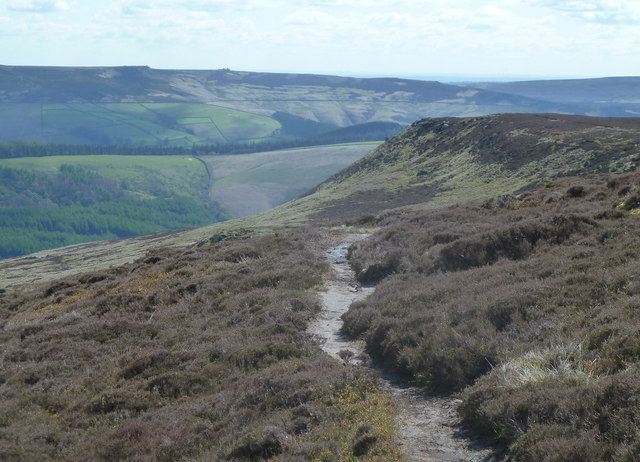 Path towards Crookstone Knoll