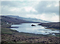 NG4948 : View over Loch Fada by Nigel Brown