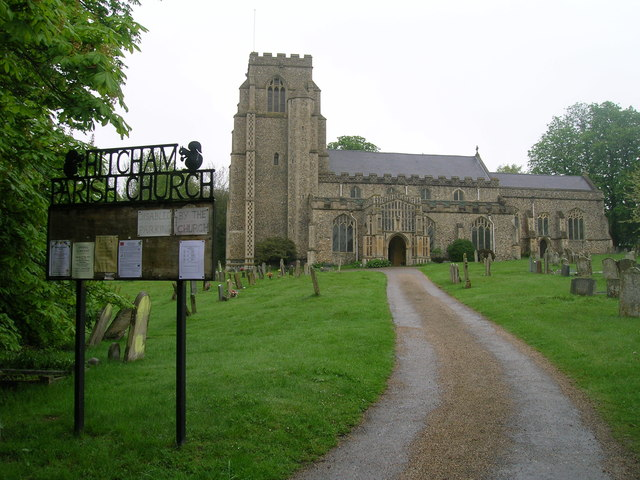 All Saints Church, Hitcham