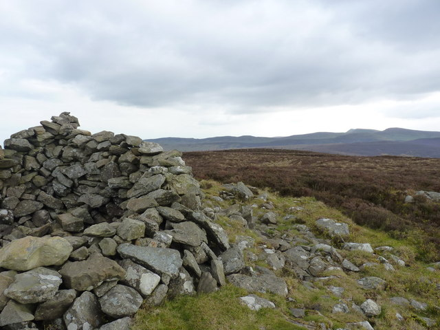 From the summit cairn to the Berwyns main ridge