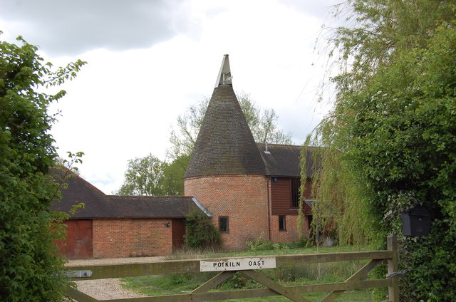 Potkiln Oast on Potkiln Lane