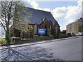 SD7529 : United Reformed Church, Accrington by David Dixon