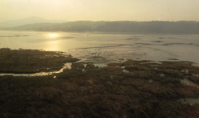 Saltmarshes at Llansanffraid