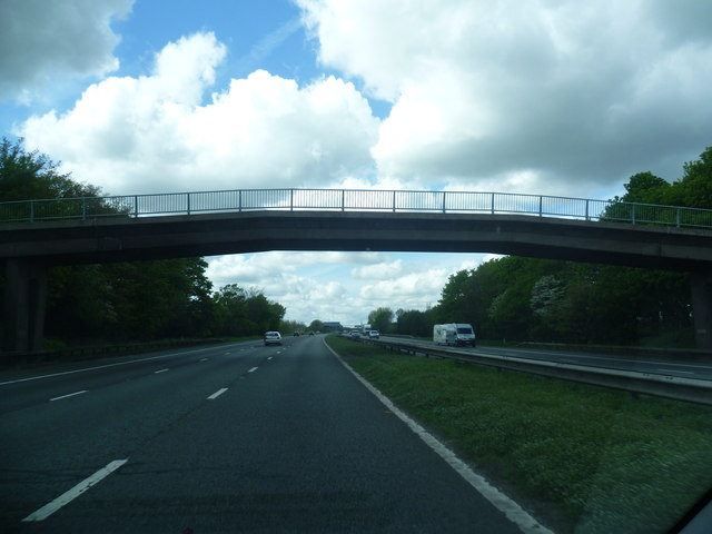 Track crosses the M6