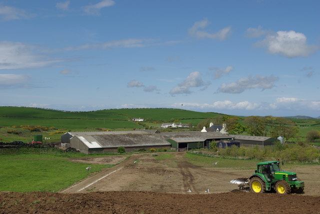 Ploughing at Laigh Glenstockadale