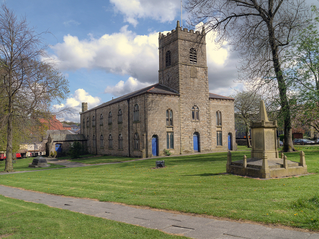 St James' Church Accrington.
