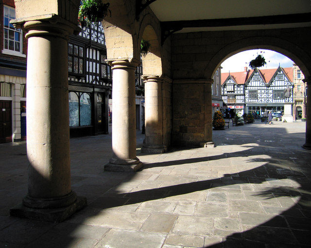 Under the Old Market Hall