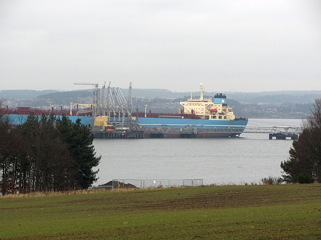 Maersk Producer at Hound Point