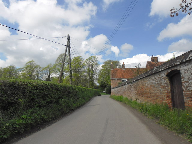 Rectory Hill in early May 2012