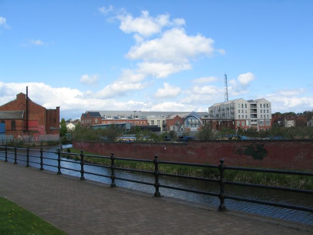 Electric Wharf,  Coventry Canal