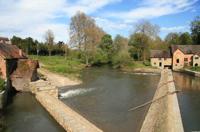 River Teme, Bromfield