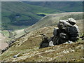 SK1288 : Rock formation below the Blackden Edge path (2) by Andrew Hill