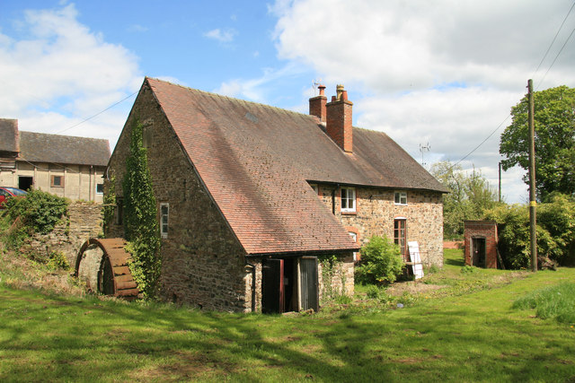 Cleobury Mill, Mill Farm, Cleobury North