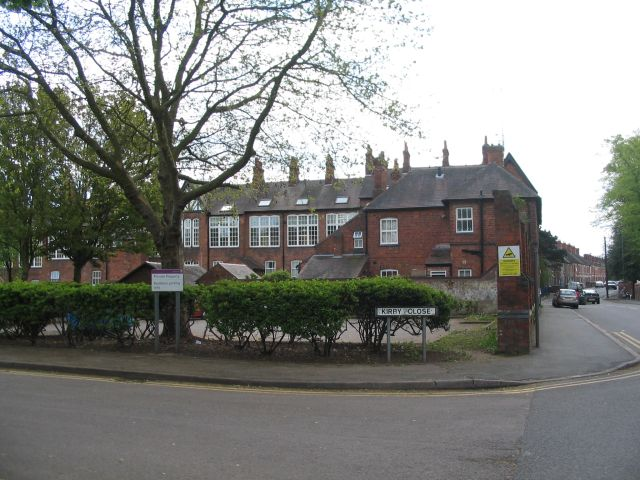 Cash's houses from Kirby Close