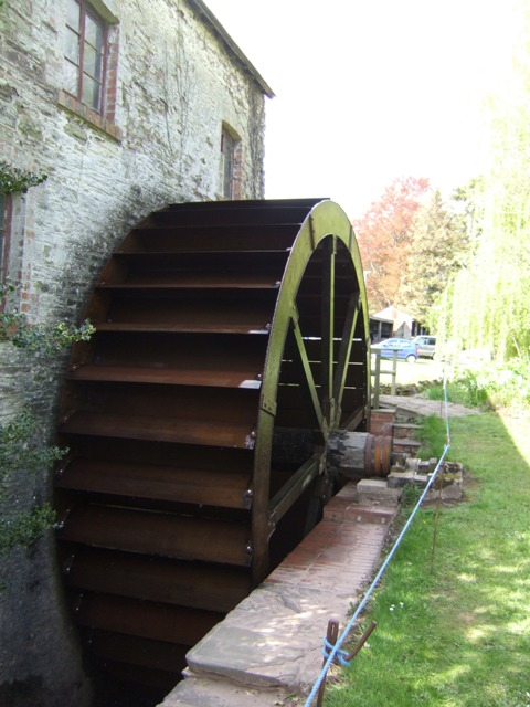 Wheel at Clodock Mill