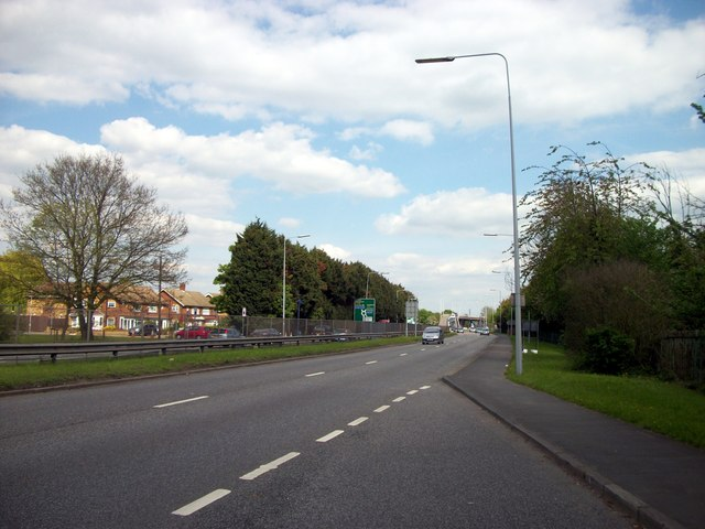 A12 looking toward Gallow's Corner