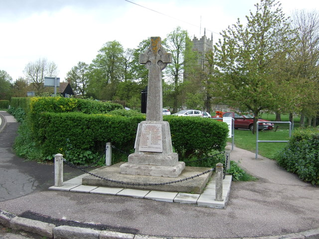 War Memorial, Great Bromley