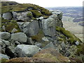 SK0889 : Gritstone outcrop, The Edge by Andrew Hill