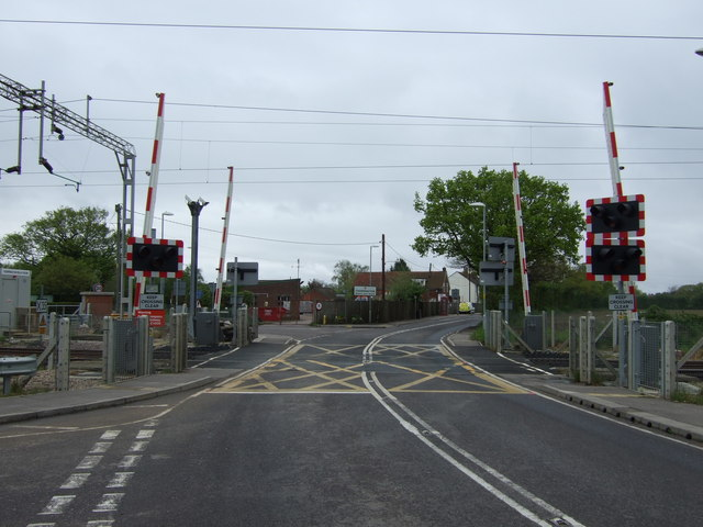 Level crossing, Frating Road