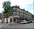 TQ2483 : Kilburn Lane shops, London W9 by John Grayson