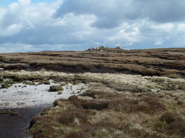 Upland plateau by the Pennine Way