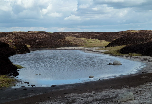 Small tarn near the top of Kinder Low