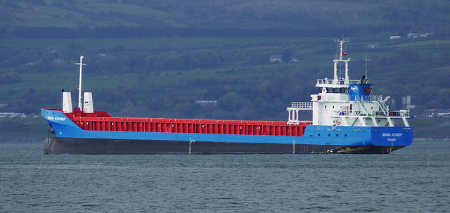 The 'Serra Atasoy' off Bangor