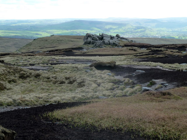 Slopes south of Kinder Low