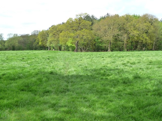 The public footpath to White House Farm