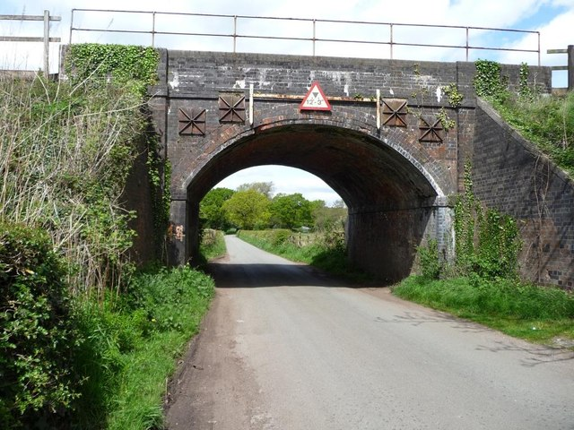 Sudlow Lane railway bridge