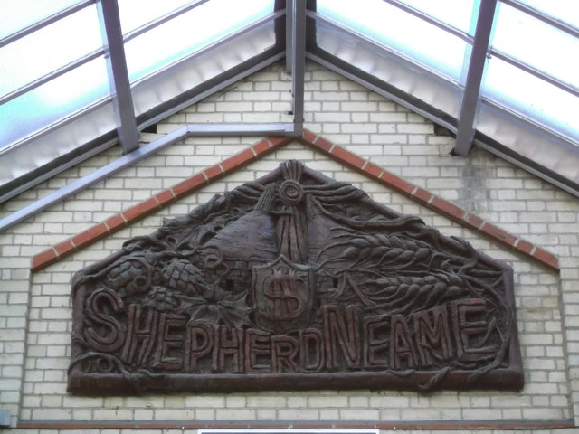 Shepherd Neame Carving, Faversham Railway Station