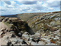 SK0887 : Red Brook exiting the plateau (and the grid square) by Andrew Hill