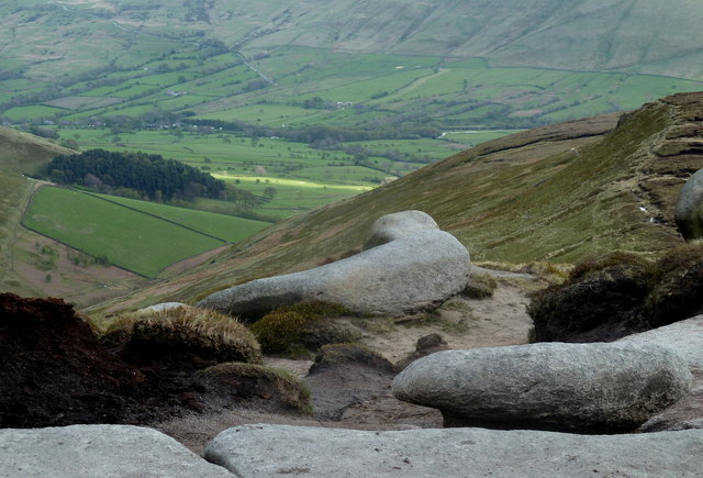 Overlooking Crowden Clough