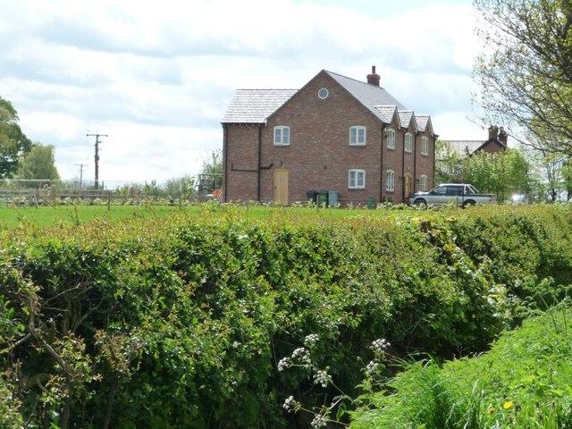 Large new house on Pinfold Lane