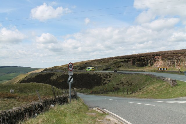 Road junction on A537